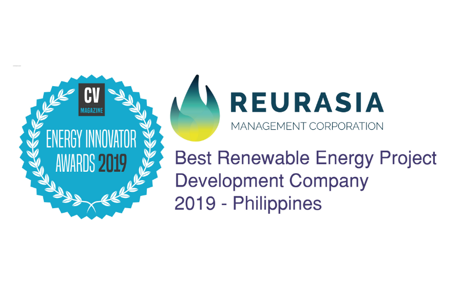 REURASIA - Best Renewable Energy Project Development Company 2019