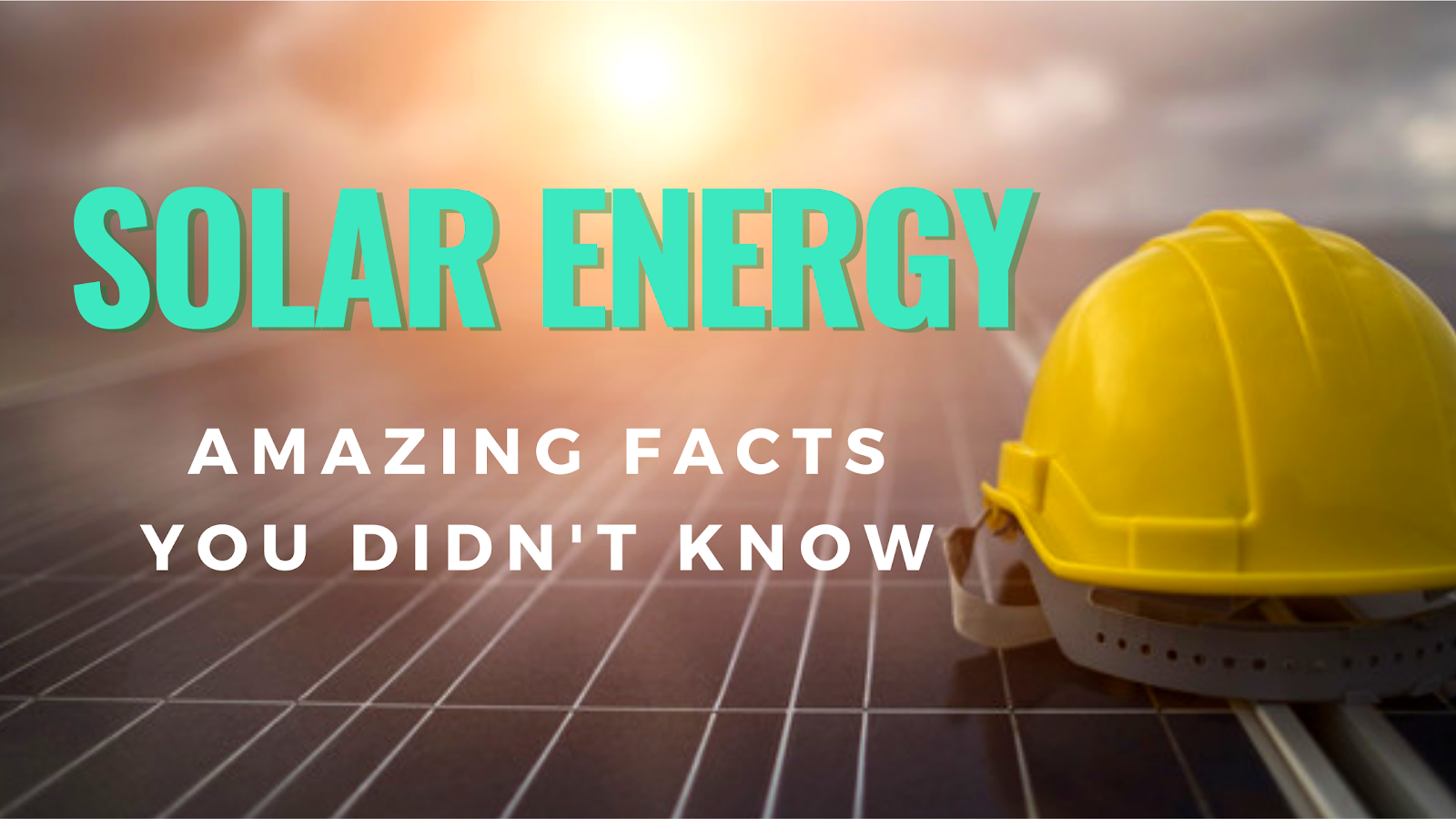 Solar Energy Facts - Reurasia